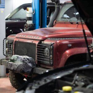 Land Rover сервіс